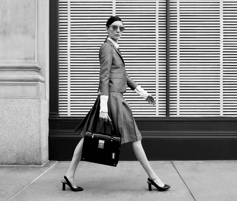 Thom Browne Model laufen